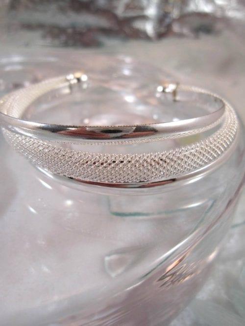 Bonus erbjudande – Silverpläterat armband
