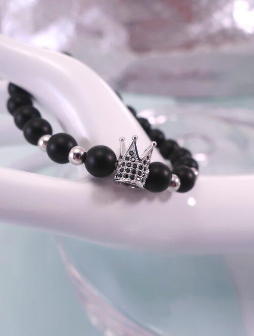 Onyx armband – Flex/Krona