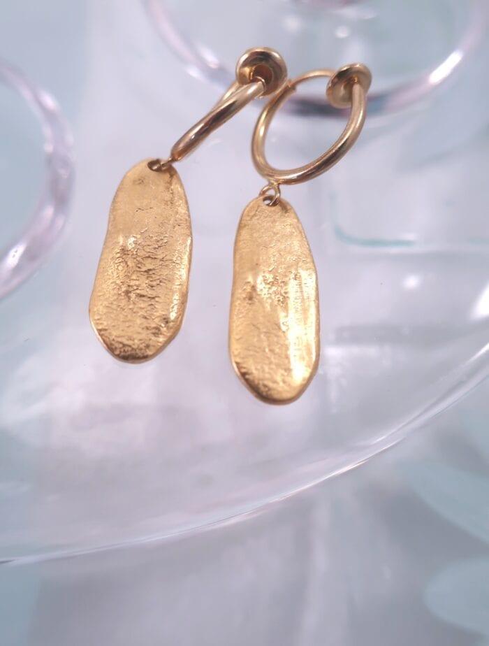 Clips creoler med guldformer – GP