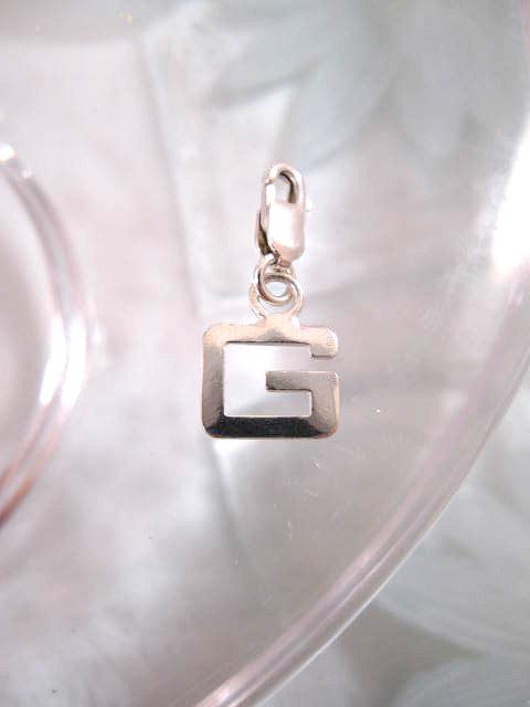 Berlock med karbinlås - Bokstav G/Initial