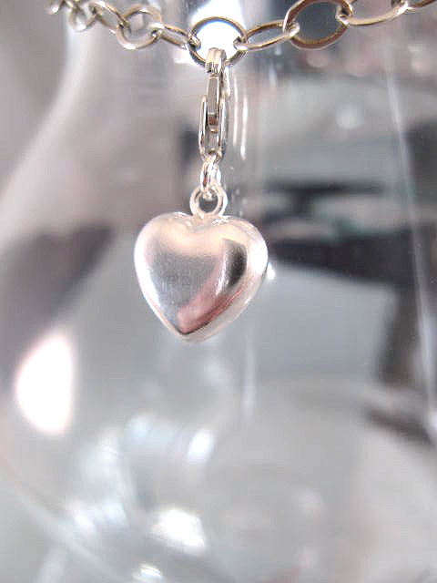 Berlock med karbinlås - Symbol/Hjärta