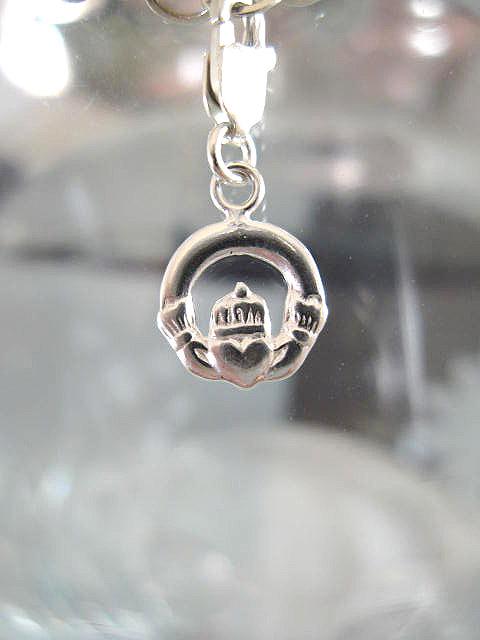 Berlock med karbinlås - Symbol/Budskap/Kärlek o Vänskap