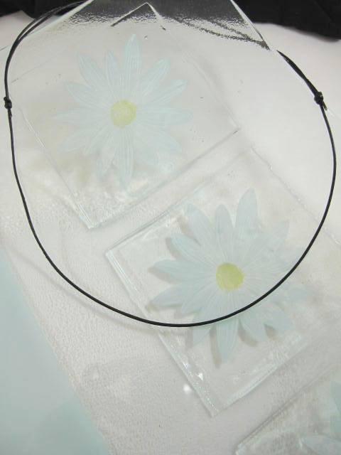 Läderrem 1 mm, halsband - Berlock/Svart/Justerbart/Unisex