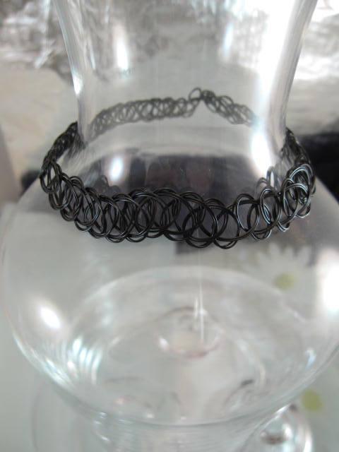 Plasthalsband, Choker, armband för berlocker - Flex