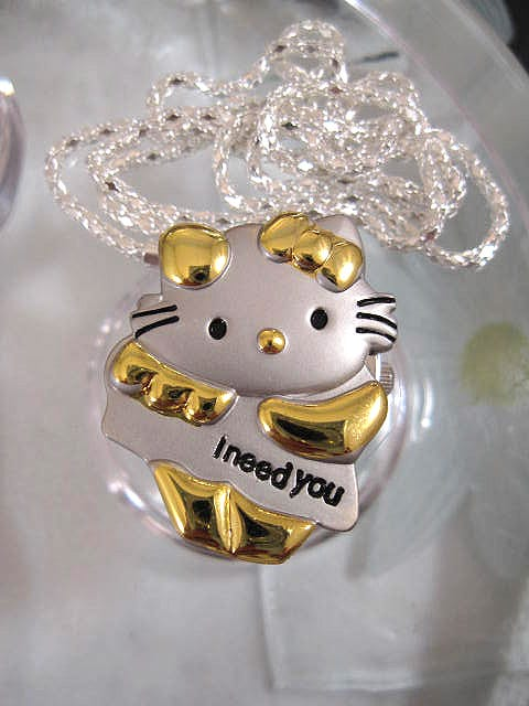Bonus erbjudande 2000 - Hello Kitty halsbandsklocka - I need you