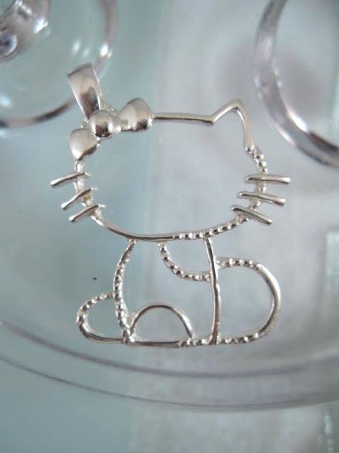 Kitty katt hängsmycke - Djur/XL