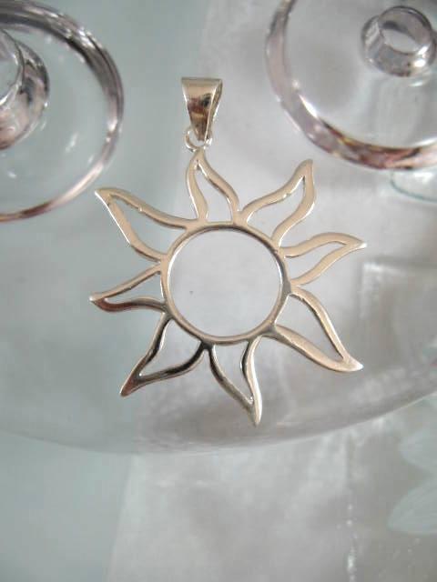 Hängsmycke - Sol/XL
