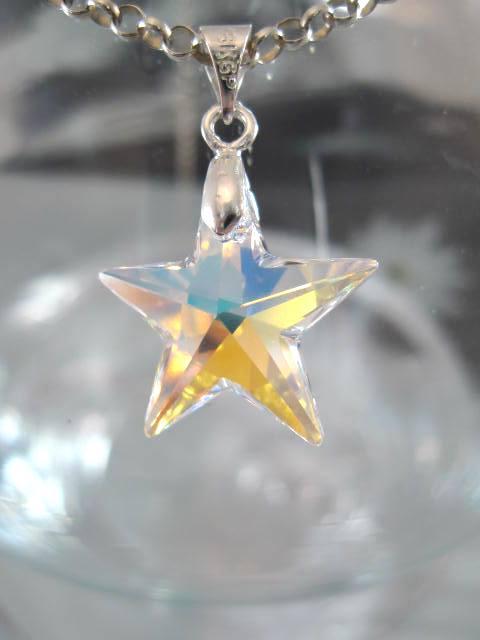 Swarovskikristall hängsmycke Stjärna