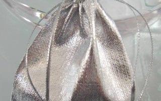 Presentpåse Organza - Silver