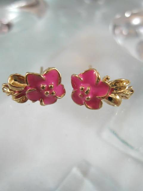 Bonus erbjudande 300 - Guldörhängen - Blomma/Rosa