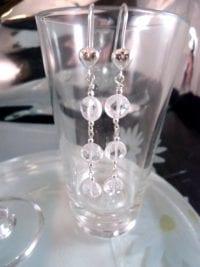 Långa Cubic Zirkon örhängen - Hjärta/Fasett/Coin/CZ/Diamant