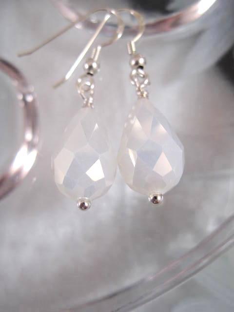 Mystisk Opalit örhängen - Droppe