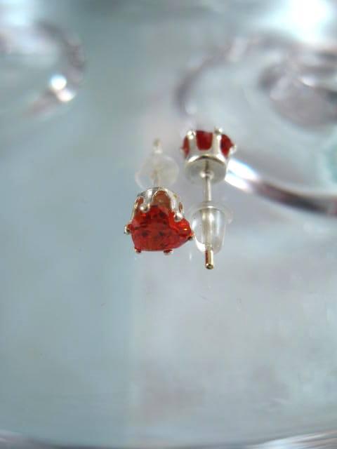 Bonus erbjudande 500 - Kristallörhängen - Studs/Orange