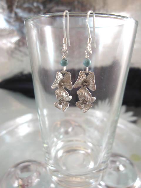Jade o Orkide örhängen - Ranka