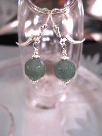 Smaragd örhängen - Fasett/Pärlor/Leverback
