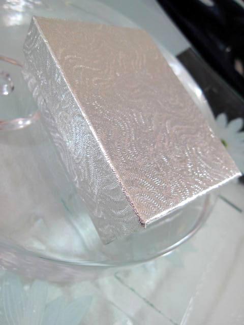Presentask Armband, Hängsmycke, Örhängen - Silver