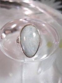 Akvamarin ring - Cab/Droppe
