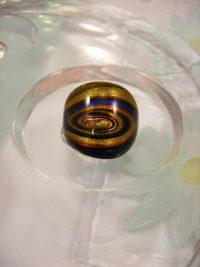 Bonus erbjudande 300 - Glasring 16.25 - Gul/Blå