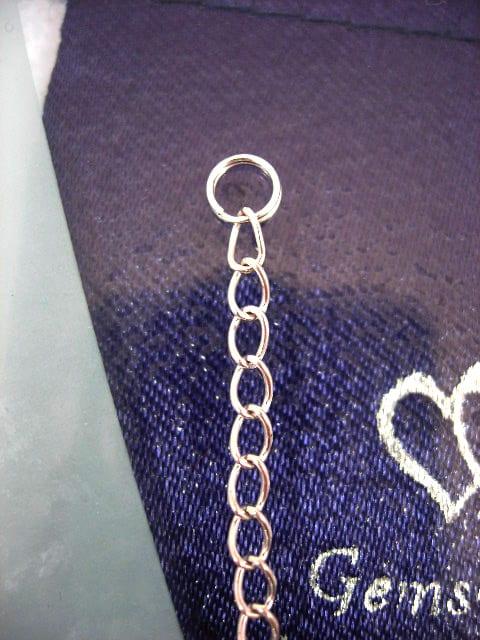 Silverkedja 3 mm - Förlängningskedja med spiral, 5 cm lång