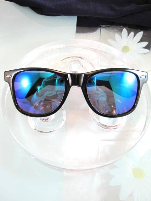 Solglasögon - Blå/Retro/Unisex